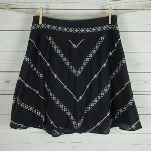 Free People Fair Isle Embroidered Skirt 4